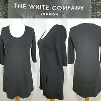 The White Company Grey Pocket Shift Tunic Dress Size 14 Casual Relaxed