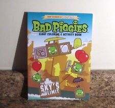 Angry Birds Bad Piggies Coloring and Activity Book Pig The Sky's The Limit NEW