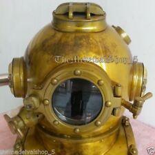 Nautical Decor Replica Vintage Diver Helmet SCuba Divers Antique Diving Helmet