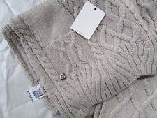 UGG Scarf Isla Lurex Cable Knit Moonlight NEW $125