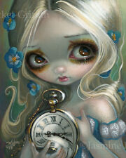 Jasmine Becket-Griffith alice in wonderland art print SIGNED Keeping Up