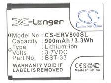 BST-33 Battery for Sony Ericsson Z800  V800i  V800  V802  V802SE  P990i  M600i
