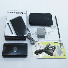 Brand New Charcoal Black Nintendo DS Lite HandHeld Console System + gifts