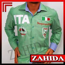 Long Sleeve Men's Shirt Shirts Italia Italy Polot-T-Shirt Party S M L XL XXL New