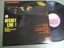 SIDNEY BECHET France LP, BECHET LIVE!