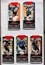 1999-00 Jell-O Hockey Card NHL Super Skills; Leclair; Roenick; Bondra; MacInnis