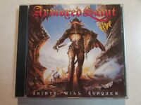 ARMORED SAINT SAINTS WILL CONQUER 1994 METAL BLADE REISSUE CD 3984-14055-2 OOP