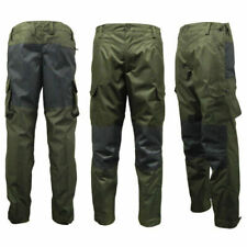 Game Mens Durus Hardshell Breathable Trousers Hunters Green Waterproof Cordura