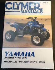 1987-2006 CLYMER YAMAHA ATV BANSHEE SERVICE MANUAL NEW M486-6  (231)