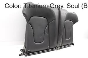 2010 2011 2012 AUDI S5 CABRIOLET B8 - REAR UPPER SEAT BACKREST LEATHER CUSHION