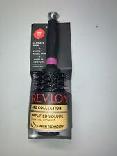 Revlon Pro Collection Lg Round Brush Amplified Volume Moisture Titanium