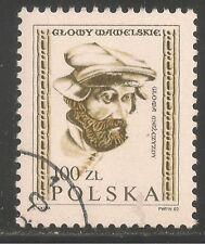 Poland #2537 (A795) VF USED CTO 1982 - 100z Carved Head, Wawel Castle