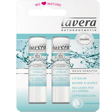 LAVERA ORGANIC BASIS SENSITIVE LIP BALM & DUO PACKAGE - 4.5g