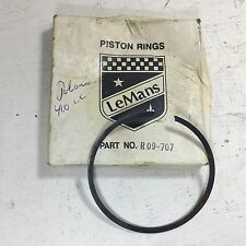 POLARIS INDY 400 1984-1991 PISTON RING LEMANS BRAND PN R09-707 NEW OLD STOCK