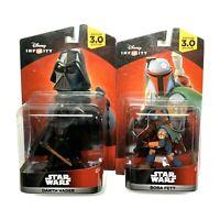 NEW Disney Infinity Star Wars Darth Vader Boba Fett Action Figure Toy Game Piece
