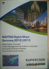 NAVTEQ / VDO DAYTON SUPERCODE C-IQ // DEUTSCHLAND +MAJOR ROADS EUROPE 2012/2013