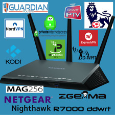 Netgear R7000 IPVanish NORD Express PIA VPN IPTV ZGEMMA Just add your user/pass