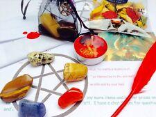 LOVE - Spell Kit - 5 SPELL CAST CRYSTALS~ Witchcraft