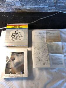 NOS Wells Carburetor Tune Up Kit Motorcraft 2150 1983 Ford Mercury V6