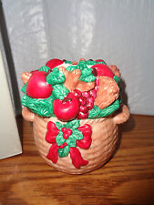 Partylite - Balsam Basket Candle Holder - P0459 - With Candles