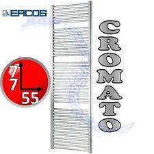 3S NUOVO SCALDASALVIETTE TERMOARREDO CROMATO CROMO TERMOSIFONE BAGNO H 77 x L 55