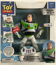 Toy Story U-Command Buzz Lightyear With Infrared Remote Control Robot Thinkway