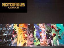 Justice League 1 2 3 4 5 6 7 8 9 10 Complete Jim Lee Variant Se DC Scott Snyder