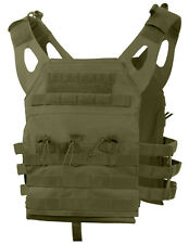 Tactical Light Weight Plate Carrier Vest Modular Olive Drab Molle Rothco 55894