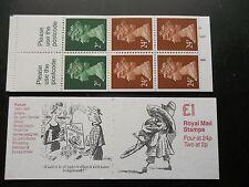 Fh25 Punch Tenniel Anton £1 Machin Stamp Booklet