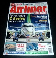 AIRLINER WORLD UK MAGAZINE ~ FEB. 2018 ~DENMARK'S NORDIC SEAPLANES ~ AIR TRANSAT