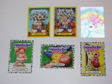 2011 Garbage Pail Kids Flashback Series 2 LOT of 6 Cards w/ Adam Mania 3D GPK