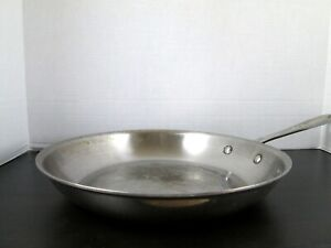 """All-Clad 12"""" Inch Fry Pan Stainless Steel Skillet Pan  - USED"""
