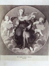 Victorian CDV Carte De Visite Photo: Artwork/Engraving #140 Raphael