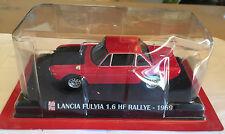 "DIE CAST "" LANCIA FULVIA 1.6 HF RALLYE - 1969 "" SCALA 1/43 AUTO PLUS + BOX 1"