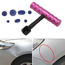 18 Tabs Car Body T-Bar With Paintless Dent Repair Removal Tool Kit Puller Lifter