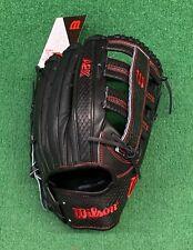 "Wilson A2K 1775SS 12.75"" Outfield Baseball Glove RHT WBW1000671275"