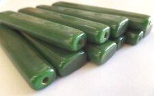 Antique American GREEN Catalin Bakelite 10 bars 9 mm / 122 gram
