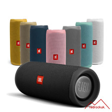 JBL Flip 5 Portable Waterproof Bluetooth PartyBoost Speaker Black & Colours