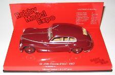 Alfa Romeo 6c 2500 close d' Oro 1947 Red 1:43 model Minichamps