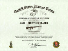 MOS 0311 US MARINES RIFLEMAN PATCH AFGHANISTAN IRAQ VIETNAM KOREA GRUNT USS FMF