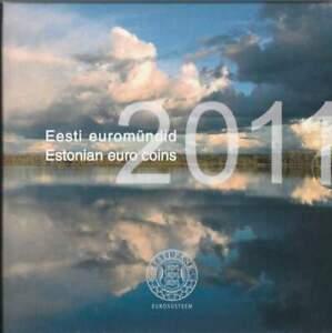 Estland Euro Münzsatz (KMS2011) TH5314, Stempelglanz