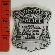 Vintage Boston Police Patch