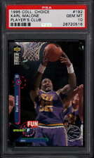 1995 Upper Deck Collectors Choice HOF #192 Karl Malone  Jazz PSA 10   353