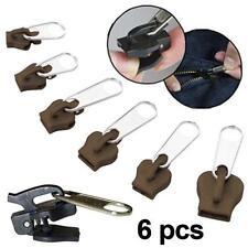 Fix à Zipper - vu à la TV -  6 zippers réparation fermeture éclair Marron
