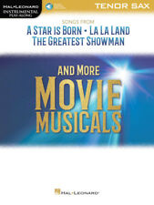 Songs from A Star Is Born,La La Land and The Greatest Showman-Tenor Sax Book-New