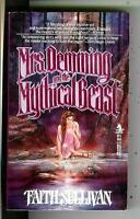 MRS DEMING AND MYTHICAL BEAST by Sullivan, Tor fantasy gga pulp vintage pb