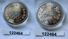1000 Yen Silber Münze Japan Olympiade Tokio 1964 (122464)