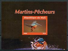 More details for mali 2018 mnh kingfishers kingfisher 1v impf m/s i bird birds stamps