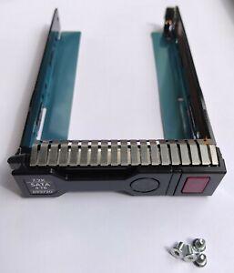 "HP 3,5"" LFF HDD Smart Carrier SAS SATA Rahmen Tray / 651314-001 Gen8 Gen9 Gen10"