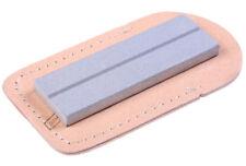 "Eze-Lap Super Fine (1200G) Pocket Sharpening Stone 1"" x 3"" Leather Wallet 26SF"